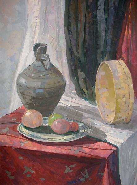 Павличенко натюрморт с кувшином